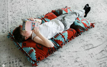 NO SEW Pillow BED!