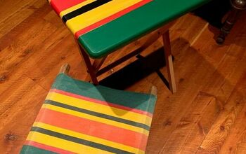 Painted TV Trays