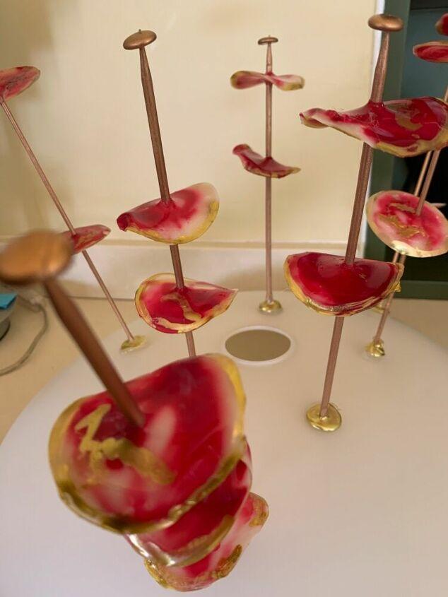 transform a boob light into a sputnik chandelier