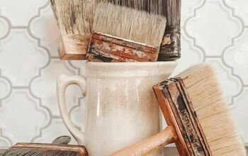 DIY Faux Vintage Paint Brushes