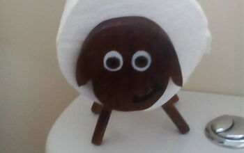 Sheep Toilet Paper Holder, Inspired by Boredom During the Lockdown