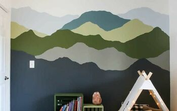 Mountain Mural Tutorial