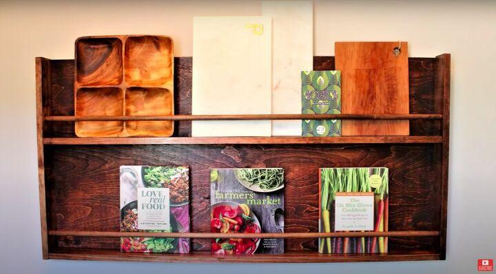 Rustic DIY Kitchen Display Rack