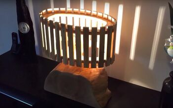 DIY Solid Wood Lamp With a Wooden Shade