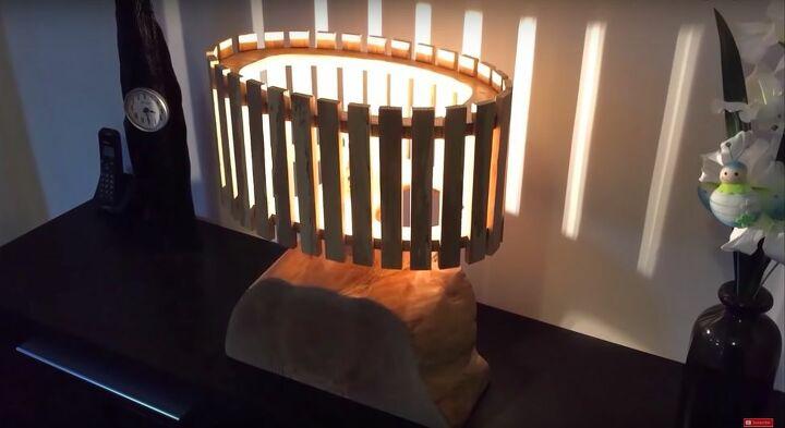 DIY Ash Wood Lamp