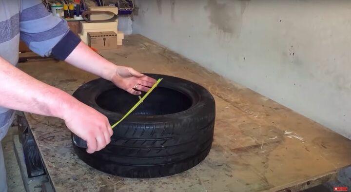 Measure the Tire