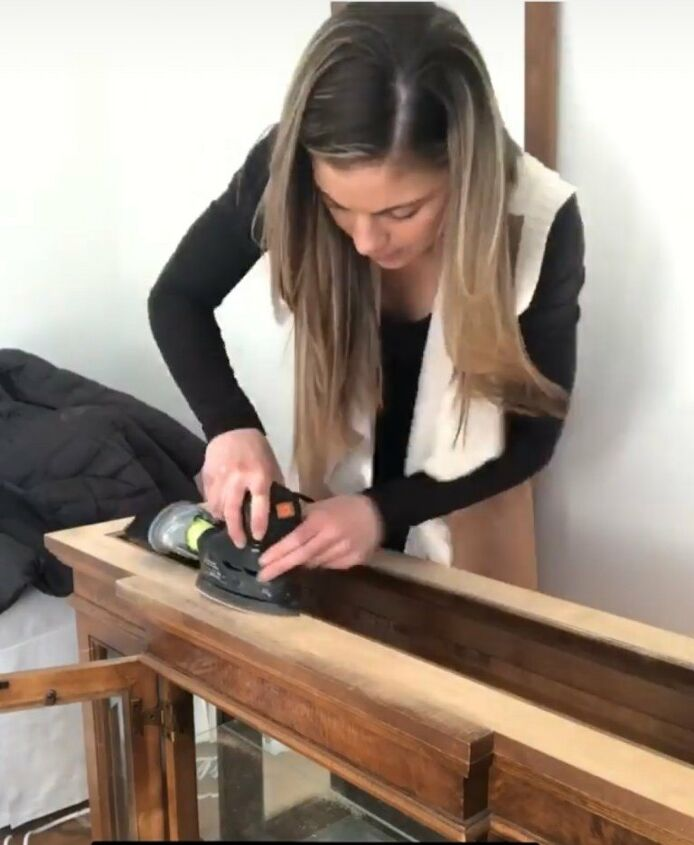 adding caning to a cabinet