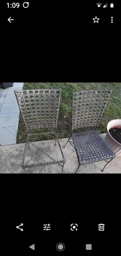 q outdoor patio chairs