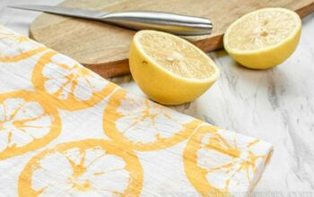 Citrus-Printed Tea Towels for Mother's Day