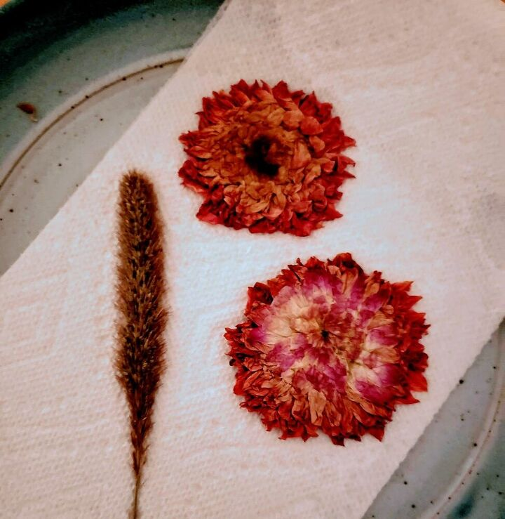 quick and easy dried flowers