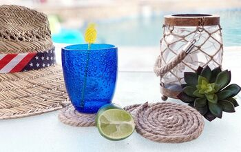 DIY Coastal Rope Coasters