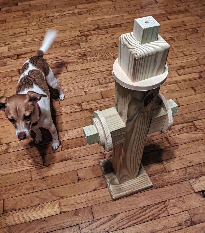 diy doggy fire hydrant