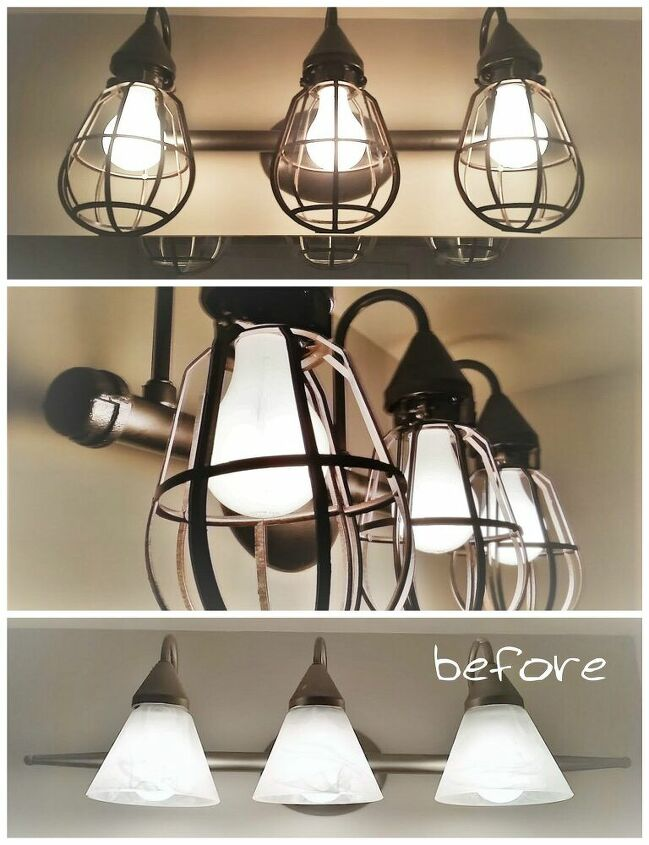 farmhouse industrial fixture for under 20
