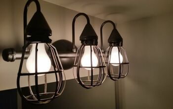 Farmhouse Industrial Fixture for Under $20