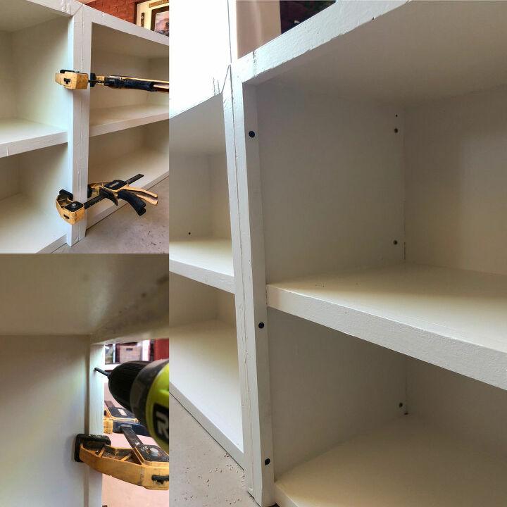 upcycled bookcase