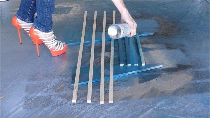 scrap floor wall art