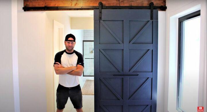 DIY Modern Farmhouse Barn Door