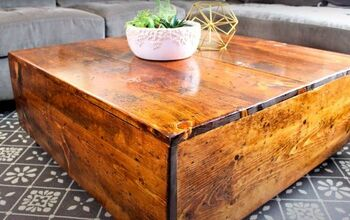 Build an Easy DIY Square Farmhouse Coffee Table Yourself