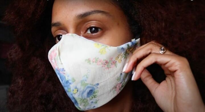 DIY No-Sew Face Mask