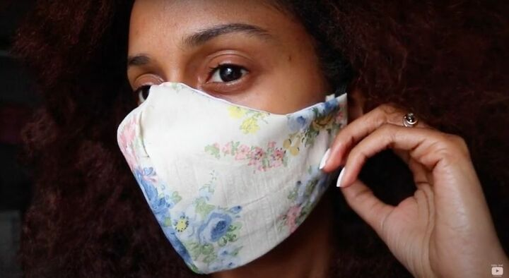 Quick No-Sew Face Mask