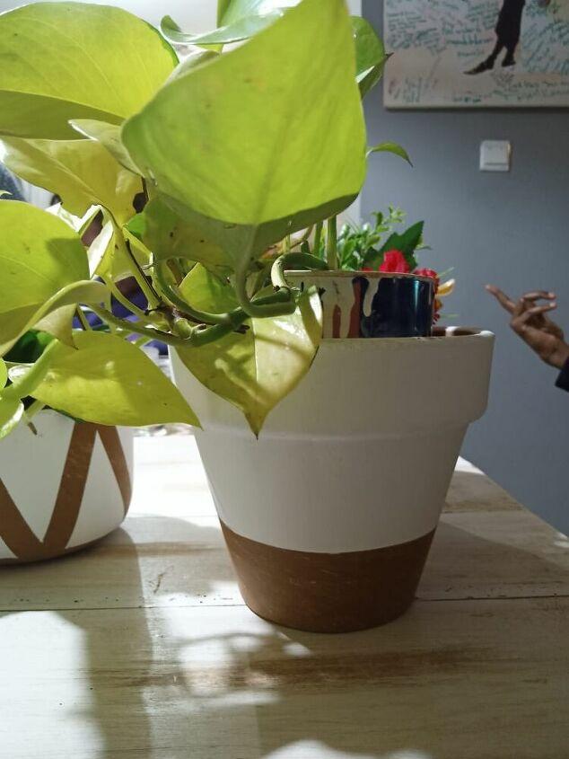 diy painting terracotta pots