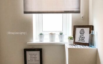 Turn Old Frames Into Farmhouse Signs