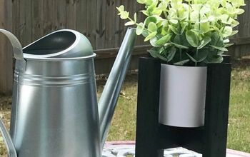 DIY Modern Planter Stand