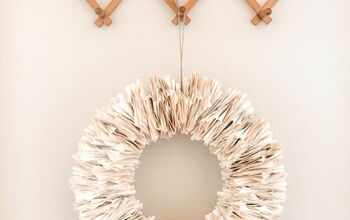 How to Make a Beautiful Wreath for Free!!!