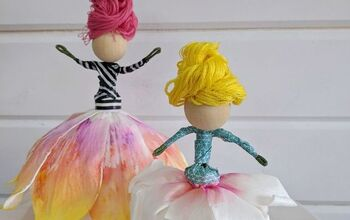Family Craft - Flower Fairies!