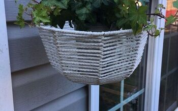 Macrame Basket Makeover