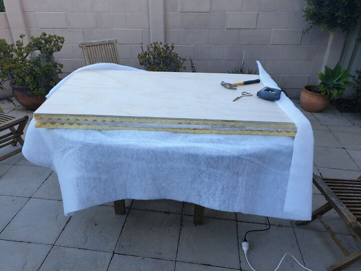 upholstered bedhead from scratch