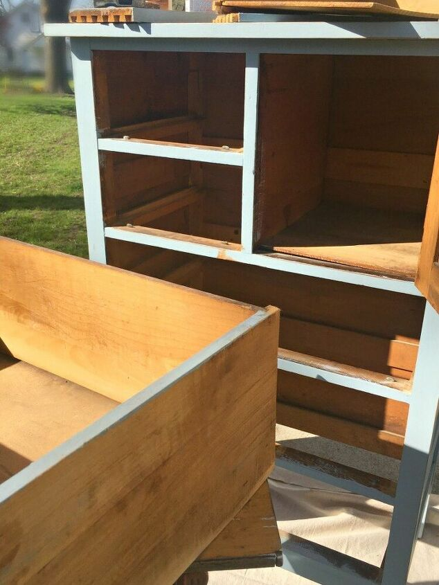 garden chest of drawers