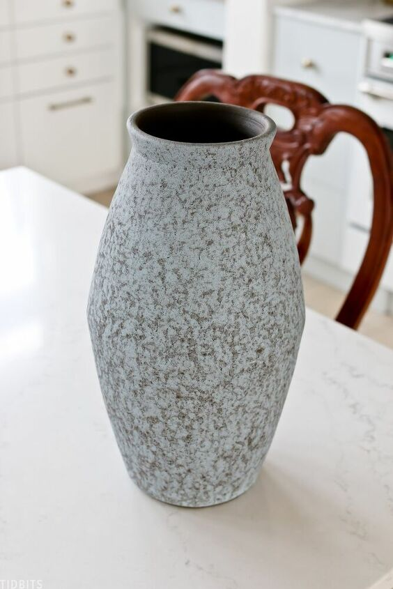 diy plaster vase makeover brand new to old world style