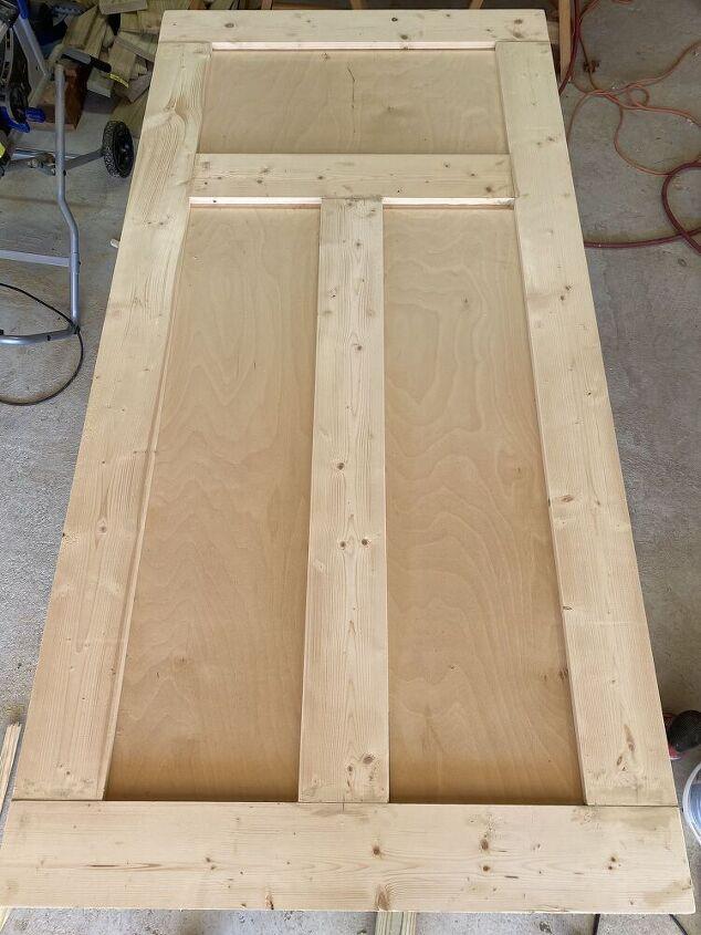 simple sliding barn door