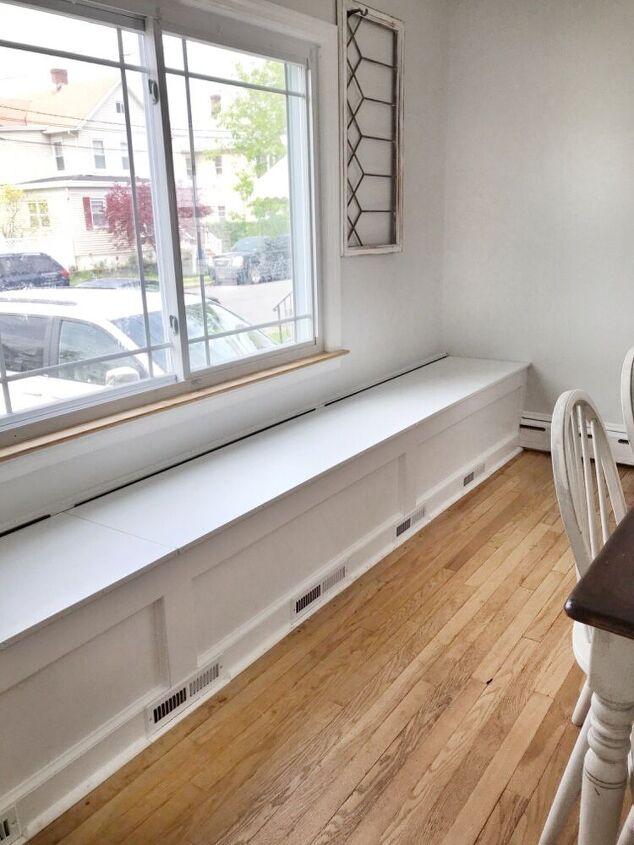 diy storage dining room bench