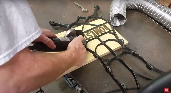 Cut with an Angle Grinder