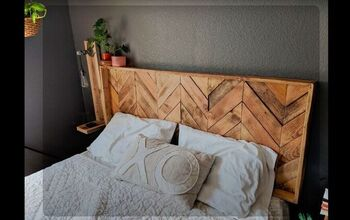 Take Your Bed to the Next Level With This Farmhouse Pallet Headboard