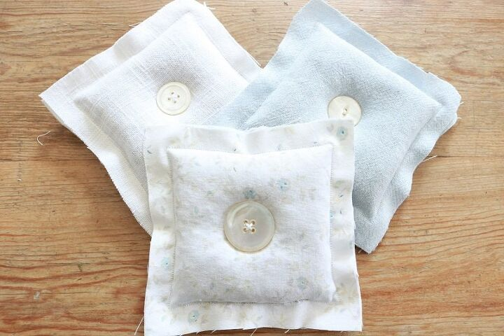how to make rustic lavender sachets