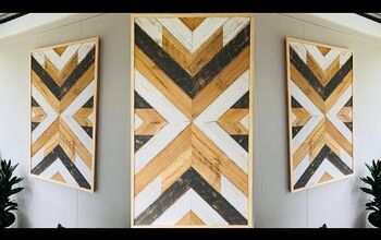 Create Recycled Pallet Wood Wall Art in 6 Easy Steps