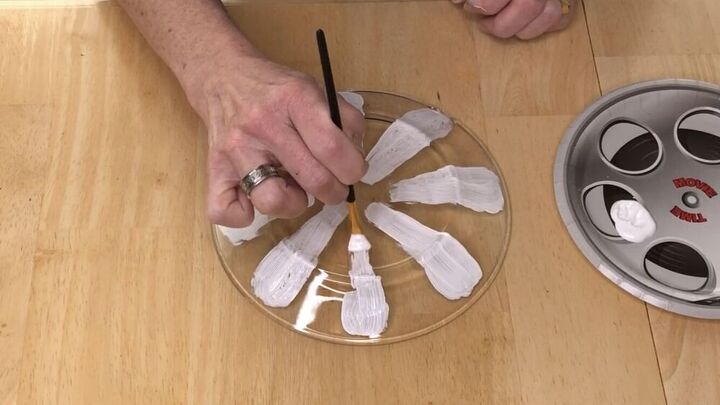 how to make garden dish flowers