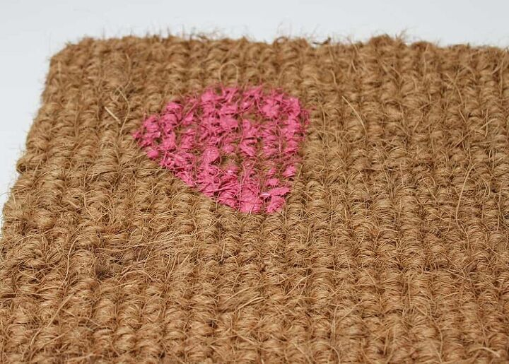 how to make a cute and easy watermelon door mat