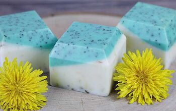 Dandelion Melt and Pour Soap Recipe for Dry Skin