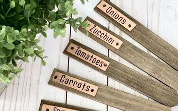 Wooden Vegetable Garden Markers