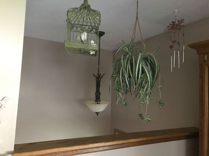 q i have a half wall shelf in kitchen