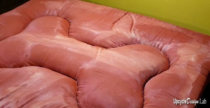 easy clean diy dog bed upcycled foam mattress