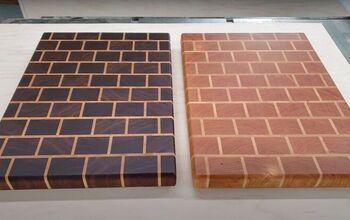 How to Create a Stunning Brick Wall End Grain Cutting Board