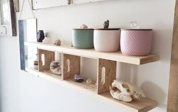 "Gallery Wall ""floating"" Shelf"