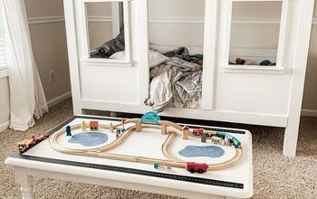 Free DIY Train Table