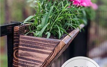 The Easiest $3 DIY Cedar Planter Boxes