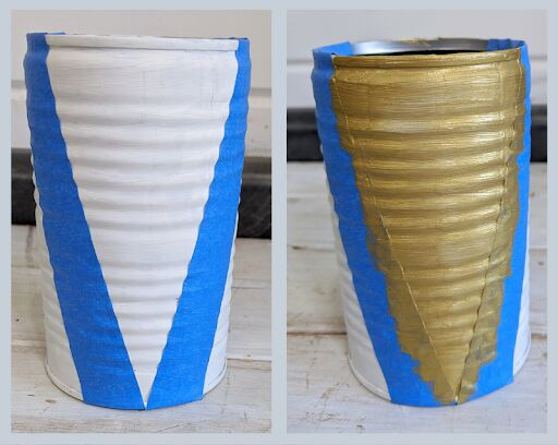 kid s craft tin can vases 3 ways